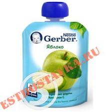 """Пюре """"Gerber"""" Яблоко фруктовое 90г"""