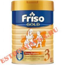 """Молочная смесь """"Friso"""" Gold 3 с пребиотиками для детей с 12 месяцев 400г"""