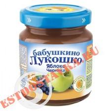 "Детское питание ""Бабушкино Лукошко"" яблоко-черника 100г"