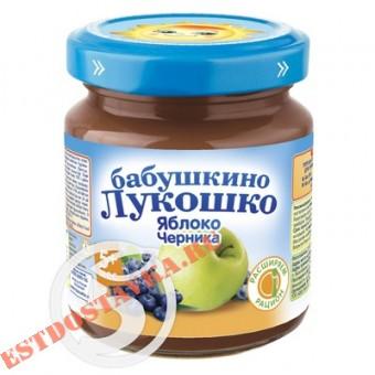 """Купить Детское питание """"Бабушкино Лукошко"""" яблоко-черника 100г"""