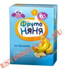 """Нектар """"Фрутоняня"""" банановый с мякотью 0.2л"""
