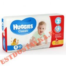 """Подгузники """"Huggies"""" Classic детские (7-18кг) 50шт"""