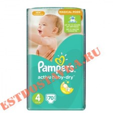 "Подгузники ""Pampers"" Active Baby Maxi (7-14кг) 70шт"