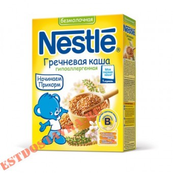 "Купить Каша ""Nestle"" Гречневая сухая безмолочная 200г"