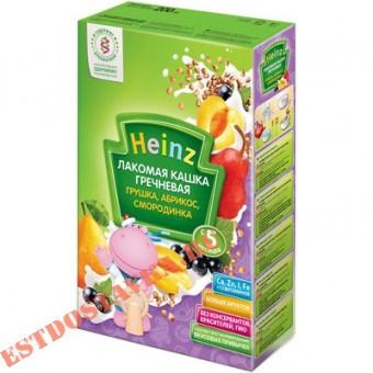 """Купить Кашка """"Heinz"""" гречневая грушка, абрикос, смородинка 200г"""
