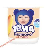 """Биотворог """"Тема"""" Груша 4,2% 100г"""