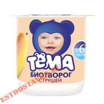 """Купить Биотворог """"Тема"""" Груша 4,2 100г"""