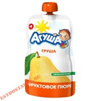 """Пюре """"Агуша"""" фрукотовое груша 90г"""