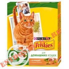 """Корм """"Friskies"""" С курицей и садовой зеленью для кошек 300г"""