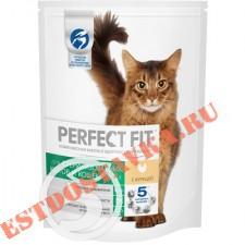 """Корм """"Perfect Fit"""" Sterile с курицей для кастрированных котов и стерилизованных кошек 650г"""