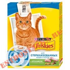 """Корм """"Friskies"""" С кроликом и овощами для стерилизованных кошек/котов 300г"""