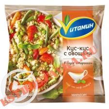 "Кус-кус ""Vитамин"" с овощами в соусе Марокко 400г"